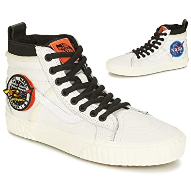 Vans Sk8-Hi 46 MTE DX NASA Space Voyager Sneaker weiß: Amazon.de ...