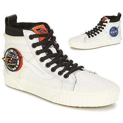 18bb25ac21 Vans Sk8-Hi 46 MTE DX NASA Space Voyager Sneaker weiß  Amazon.de ...