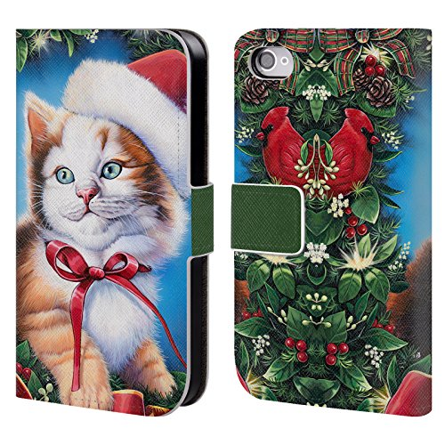 Official Christmas Mix Jenny Newland Kitty Pets Leather B...