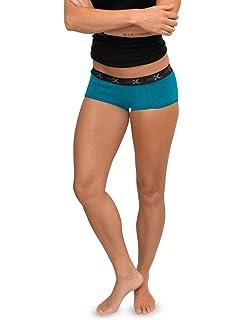 95bac2c41eb WoolX Lila - Women's Boy Short Underwear - Lightweight & Durable Merino  Wool Bottoms