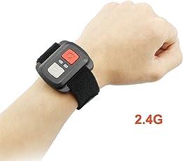 Mando a distancia de 2,4 G para cámara deportiva impermeable, cámara de control universal de vídeo.