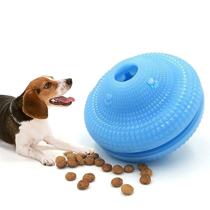 ... del alimento de la Salida de los Juguetes del Animal doméstico Juegue la masticación del Entrenamiento de la Bola Divertida para el Perro del Perrito: ...