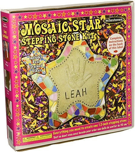 Milestones 90115122 Mosaic Star Stone Kit (Craft Garden Kit)