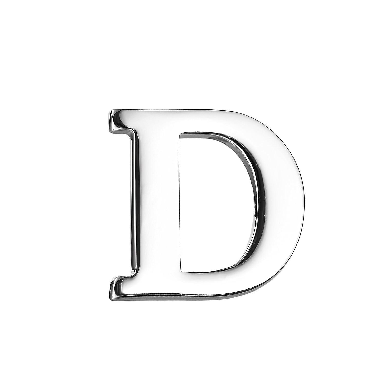 【ついに再販開始!】 シルバー26アルファベット文字の襟ピンビジネススーツラペルピンバッジ(D) B0755ZNBPY B0755ZNBPY, 栗原精穀:1b2dd965 --- mcrisartesanato.com.br