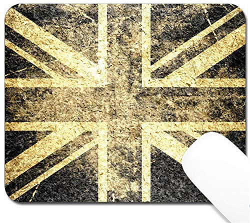 MSD Mouse Pad with Design - Non-Slip Gaming Mouse Pad - Image 18127280 Grunge United Kingdom Flag