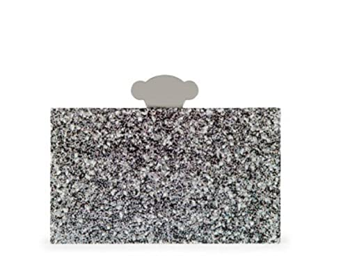 Tous Cartera de mano Clutch Britane en color plata: Amazon.es: Zapatos y complementos