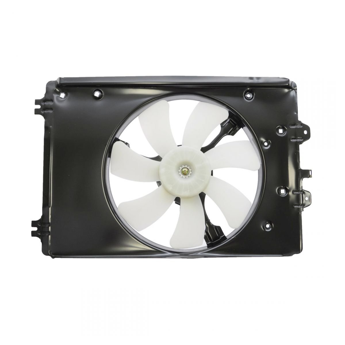 A/C AC Condenser Cooling Fan Assembly for 09-13 Honda Pilot 2WD