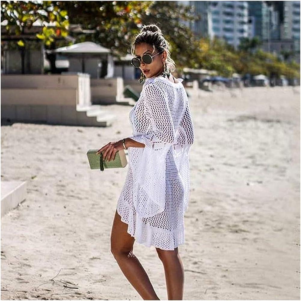 Costumi da Bagno per la Protezione Solare da Donna Coprono Abiti da Bikini allUncinetto in Pizzo Costumi da Bagno Scava Fuori