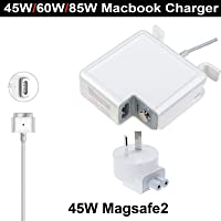 """Ntrade Compatible with Mac Book Pro Charger Replacement 45W Magsafe 2 T-Tip Power Adapter for MacBook A1465 / A1466 / A1435 MacBook Air 2012 2013 2014 2015"""" 13"""" (45W T)"""