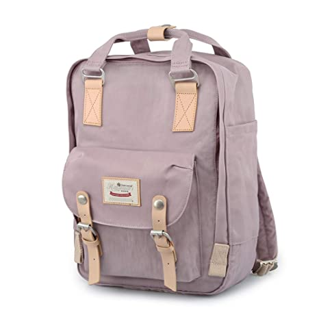 6758248a0172 Image Unavailable. Image not available for. Color  Himawari Backpack Waterproof  Backpack 14.9 quot  College Vintage Travel Bag ...