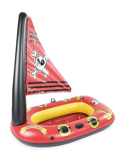 Yanshan Barco Pirata de Agua de PVC for niños, Respetuoso ...