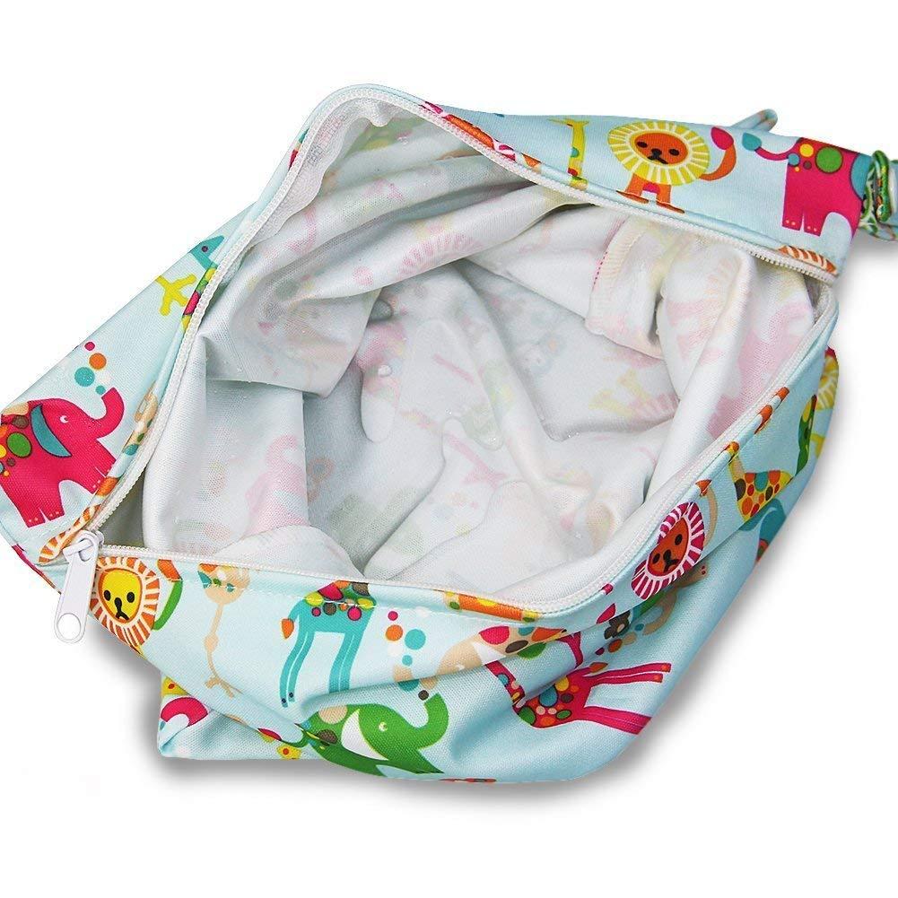 Wasserdicht Zip Wickeltasche Wet Bag Baby Erwachsene Stoffwindel Multifunction A