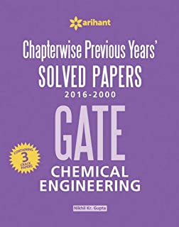 GATE Electronics & Communication Engineering: Chapterwise Previous Years' Solved Papers (2013 - 2000) price comparison at Flipkart, Amazon, Crossword, Uread, Bookadda, Landmark, Homeshop18