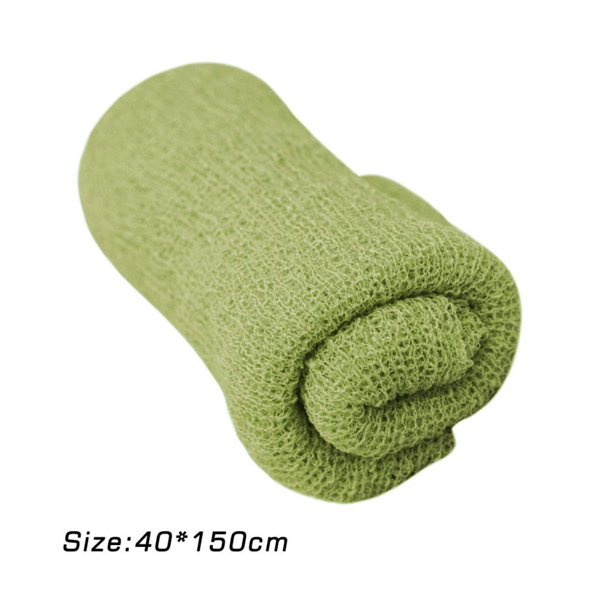 150cm Neugeborenes Baby Fotografie Requisiten Decke Rayon Stretch Knit Wraps 40