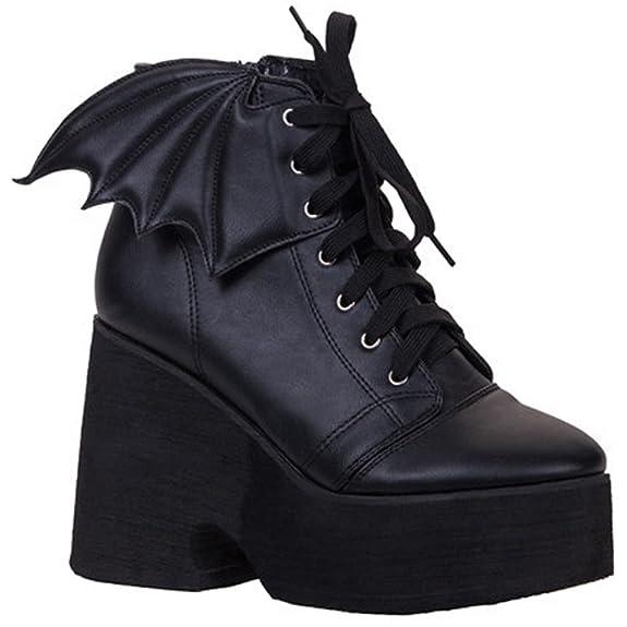 Goth Bats Boots