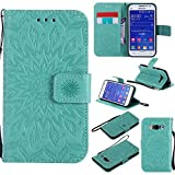 G360 Wallet Case,IVY [Sun Flower] Galaxy Core Prime PU Leather Cover Wallet Phone - Best Reviews Guide