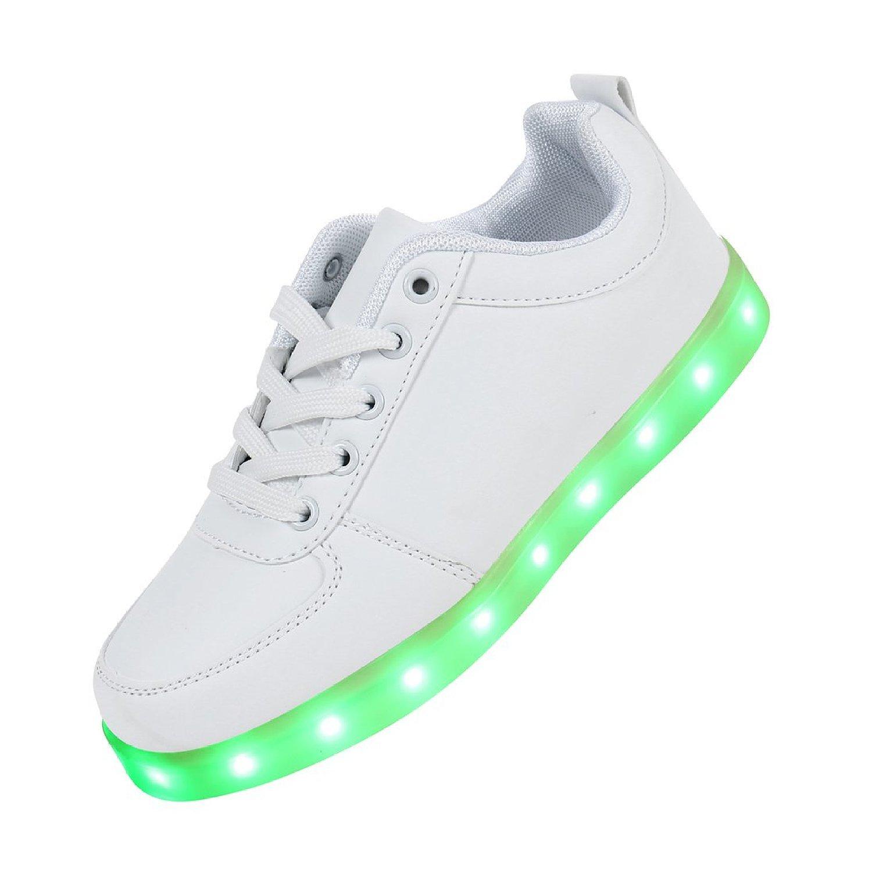 sale retailer 3c51d 1f32d Joney TM Scarpe Sneaker con LED colorati sulla suola uni