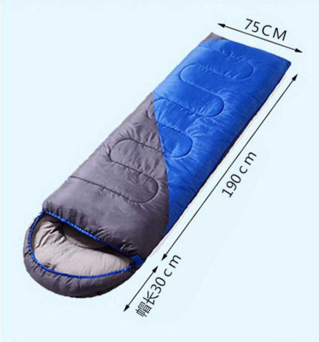 DAFREW El Saco de Dormir del Sobre, Dormir el Saco de Dormir Sobre, de Cuatro Estaciones Adulto al Aire Libre Que acampa Puede ser Empalmado Saco de Dormir Doble (Color   Verde, Tamaño   1.3KG) cb9157