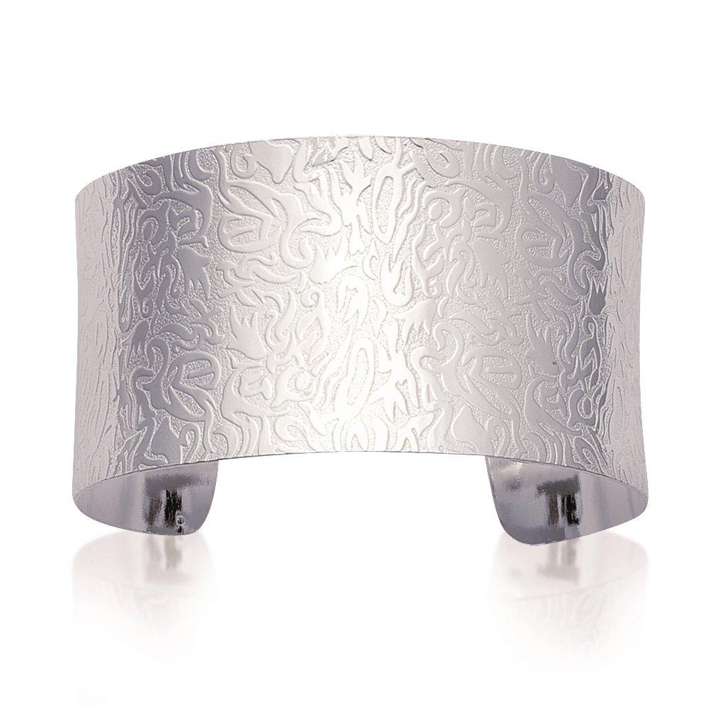 01347260cb39 Mary Jane - Pulsera plata mujer - Diam  58 mm Larg  58 mm - Plata 925 000  rhodié (Gemelos)  Amazon.es  Joyería