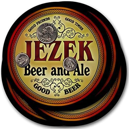 Jezek Beer & Ale - 4 pack Drink Coasters