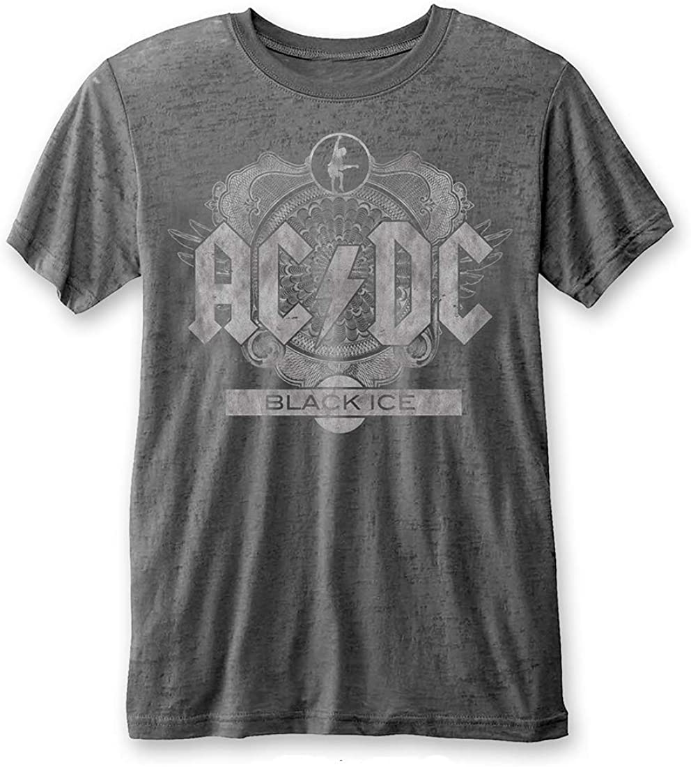 AC/DC Men's High Voltage Highway to Hell World Tour 1979/80 Tee Shirt