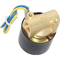 solenoide de Entrada el/éctrica de pl/ástico y lat/ón de 12V G1 // 2NC V/álvula de Agua para dispensador de Agua Ciglow V/álvula de Agua riego por aspersi/ón de jard/ín Lavadora