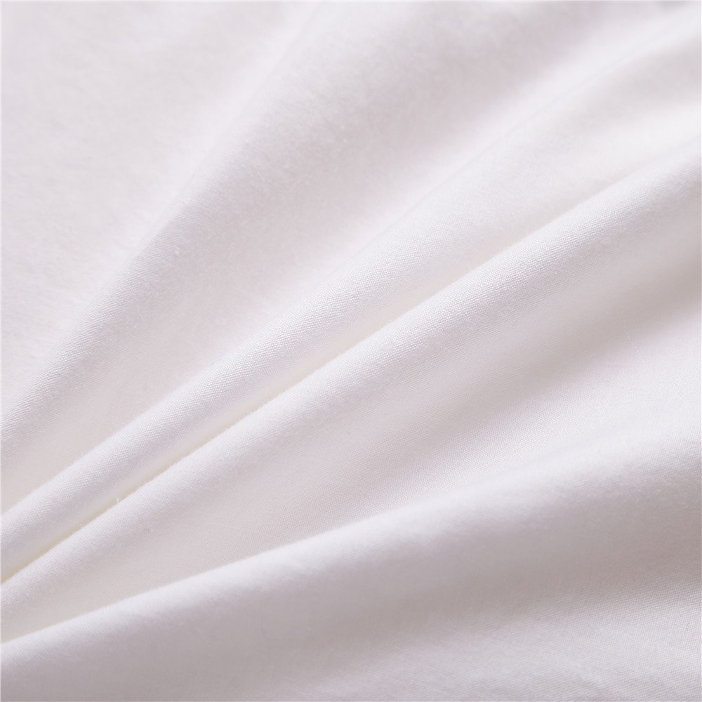 Topsleepy 75% Goose Down Comforter Queen ,100%Cotton Shell ,White (Queen 88-by-88 inches) by Topsleepy (Image #5)