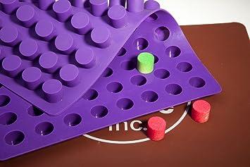 Mini Cheesecake redondo trufas de Chocolate molde – Truffly fabricado | molde para Chocolate, dulces