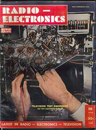 RADIO-ELECTRONICS Television Test Equipment Voltmeter Magnetic Tape ++ 2 1950