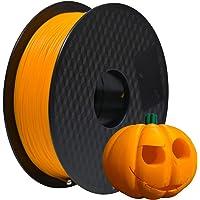 GEEETECH Filament PLA 1.75mm Imprimante 3D Filament PLA pour Imprimante 3D, 1kg Spool,Orange