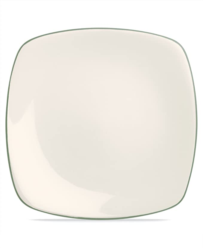 Amazon.com | Noritake Colorwave Green Square Dinner Plate: Dinner Plates