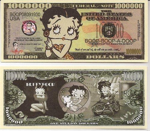 Детская игрушка прикол Betty Boop $Million