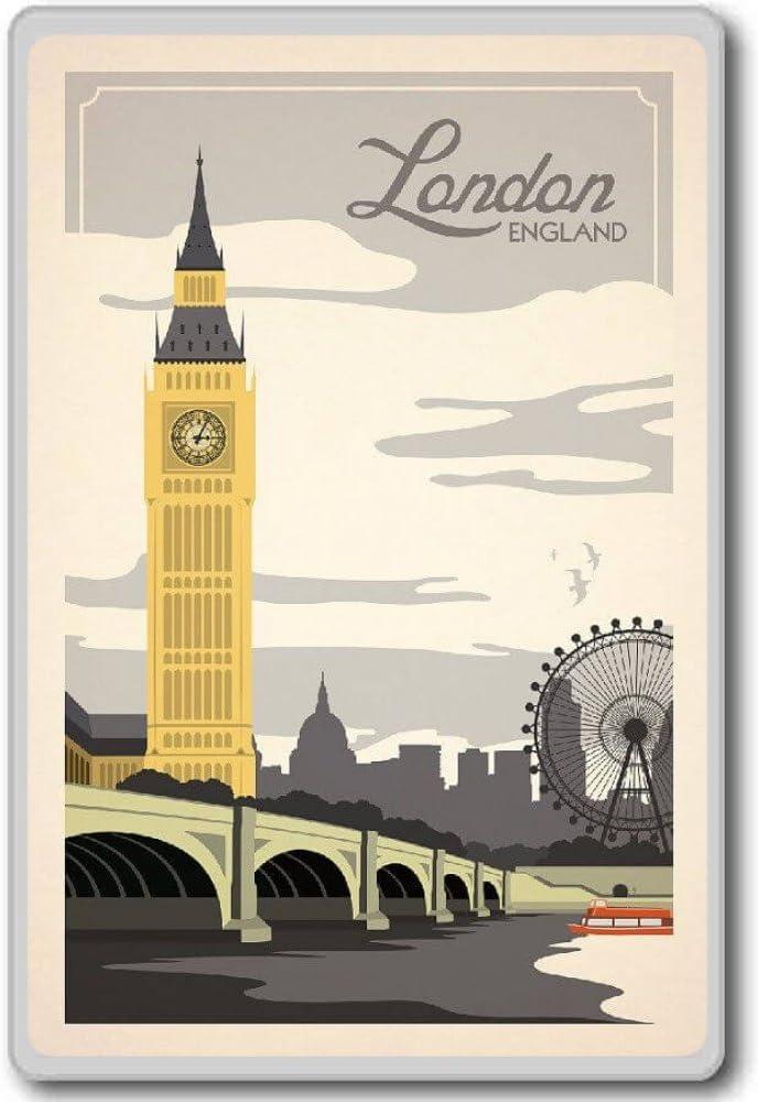 1 BRAND NEW LONDON FRIDGE MAGNET