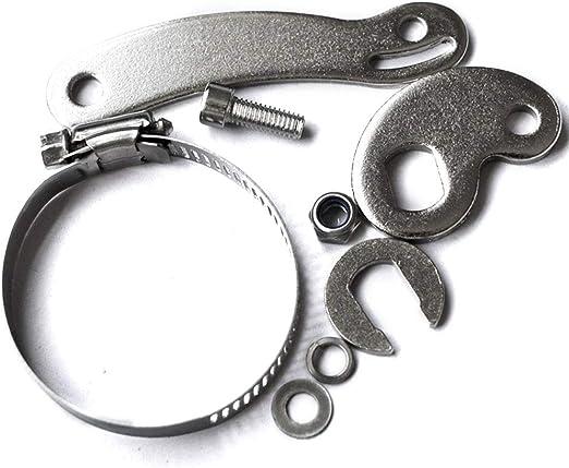 Juego de brazos de torque de aluminio de 7 piezas reemplazo de bicicleta el/éctrica juego de brazos de torque de aluminio traseros delanteros de 14 mm instalaci/ón f/ácil para accesorios de ciclismo