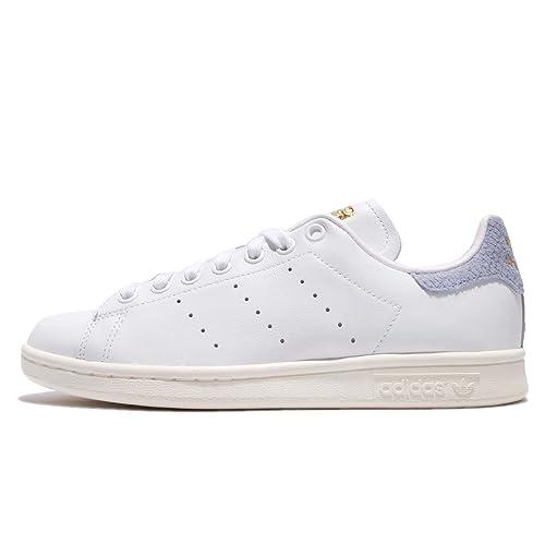 adidas Stan Smith W Chaussures de Fitness Femme, Blanc ...
