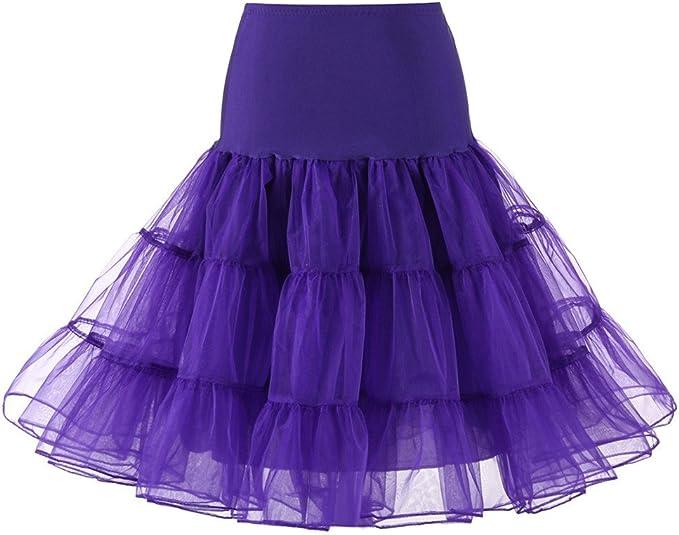 iHAZA - Falda Corta Plisada para Mujer, Falda de Baile, tutú o ...