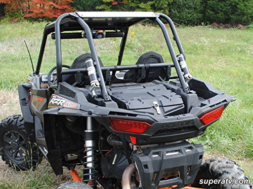 Polaris Cargo Box (2017 Polaris RZR XP 1000 Rear Cargo Box by SuperATV RCB-P-RZR1K)