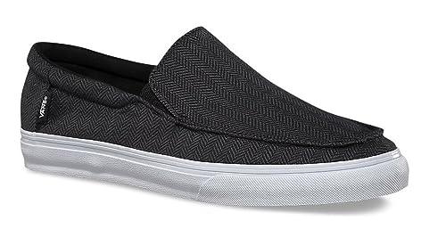 6386b0ee6e Vans Men s Bali Sf (Herringbone) Black and Grey Sneakers - 6 UK India