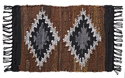 - HF by LT Snake River Canyon Handwoven Leather Placemats, 13