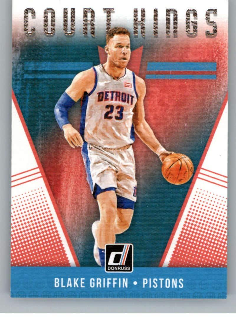 2018-19 Donruss Court Kings #29 Blake Griffin Detroit Pistons Basketball Card