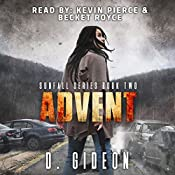 Advent: Sunfall, Book 2 | D. Gideon