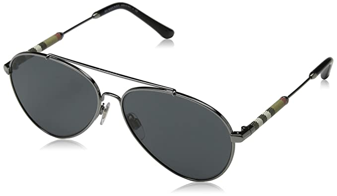 Burberry Mujer 0BE3092Q 100387 57 Gafas de sol, Gris ...