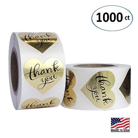 Amazon.com: Etiqueta adhesiva de papel con forma de ...