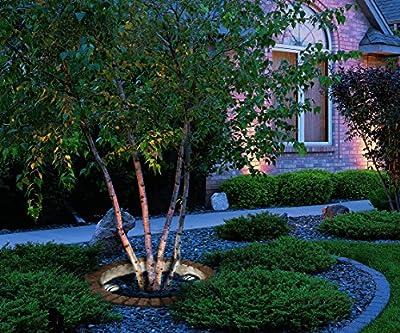 Malibu LED Well Light Low Voltage Landscape Lighting Outdoor Deck Light Yard Garden Patio In-ground Light