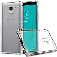 Kit Capinha Silicone Antichoque + Película Vidro Samsung J6 J600G