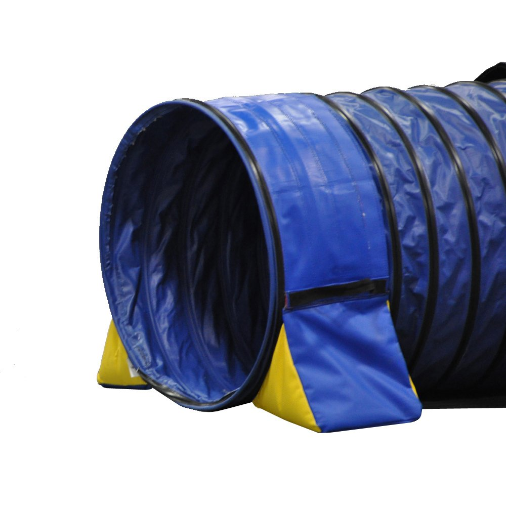 Cool Runners Tunnel Hugging Non Constricting PVC Dog Agility Tunnel Bag Set by Cool Runners