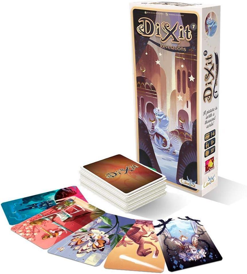 DIXIT Expansión - Todas las expansiones disponibles - Dixit Revelations (Libellud DIX09ML): Amazon.es: Juguetes y juegos