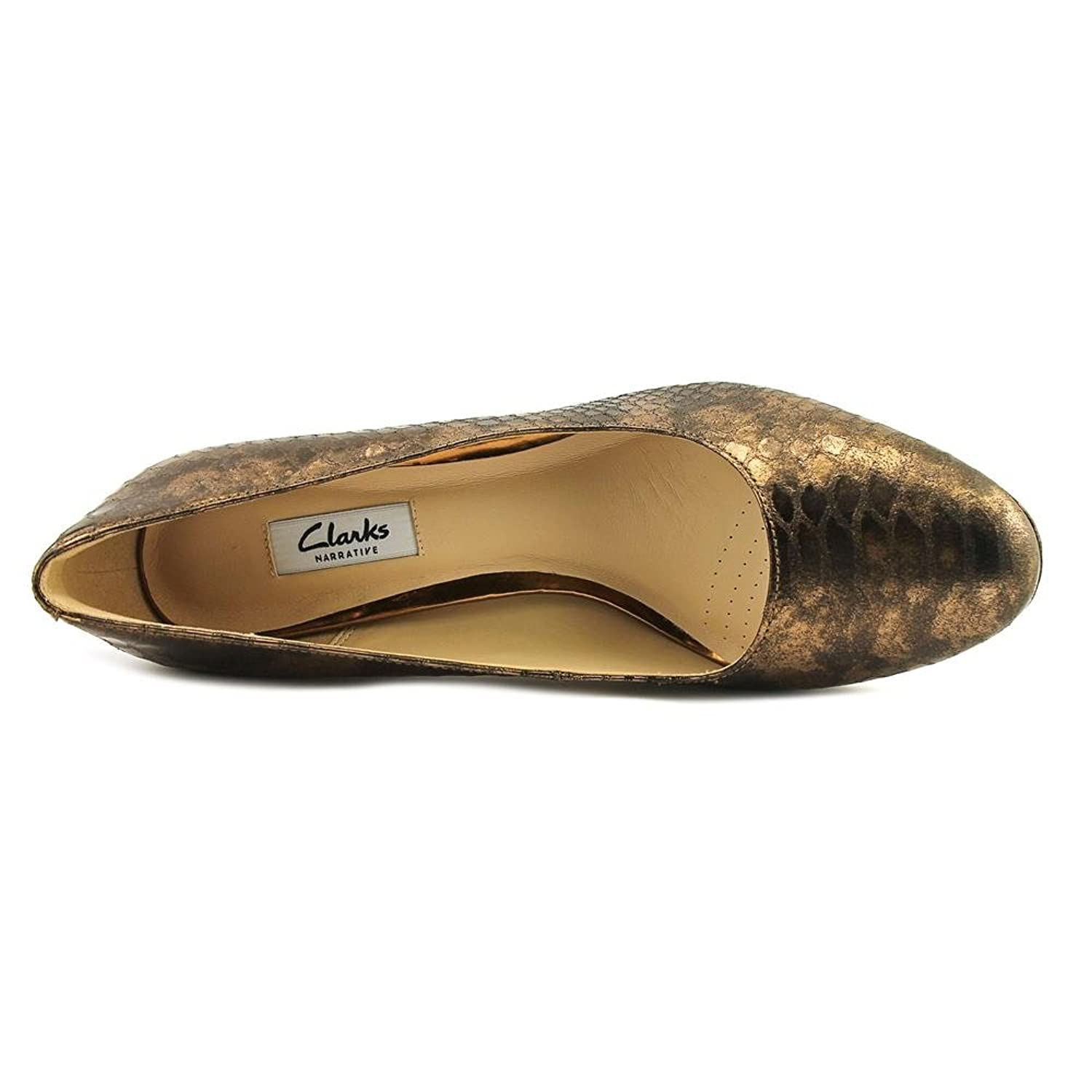 Clarks Festival Gold Ballet pumps Color Black  Women