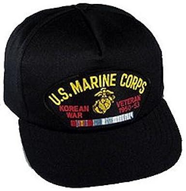 Amazon.com  USMC Korea Veteran Ballcap  Baseball Caps  Clothing 623e8de52d9