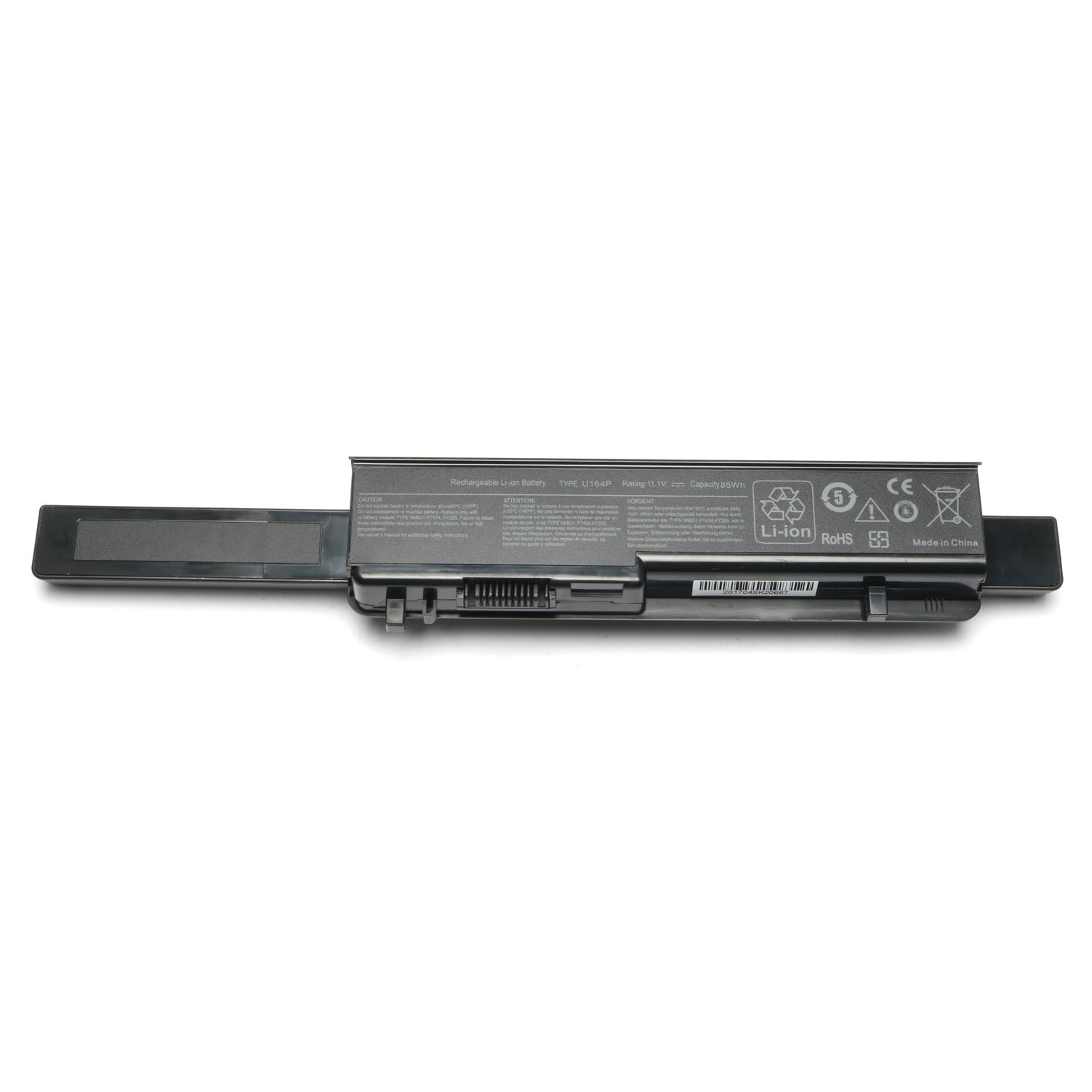 New Laptop Battery for Dell Studio 17 1745 1747 1749 Series; P/N: N856P U164P M905P U150P 312-0196 9cell 11.1V 7800Mah/85Wh